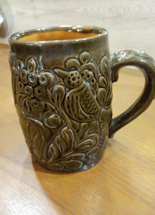 Чашка керамическая.