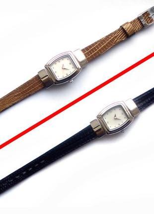 Mary kay перламутровые часы из сша двойной ремешок мех. usa