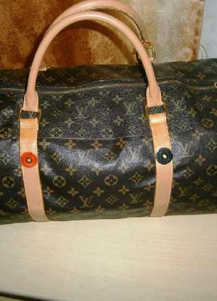 Дорожная сумка monogram canvas travel bag после профилактики + base shaper