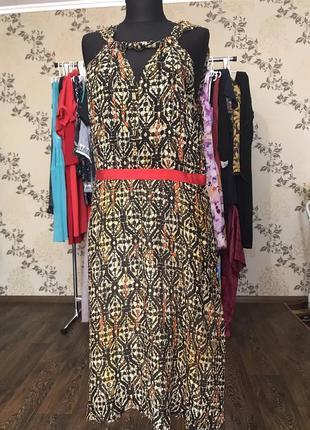 Maliparmi италия платье, сарафан шелк,шёлк,вискоза