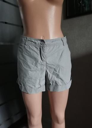 Короткие шорты из хлопка