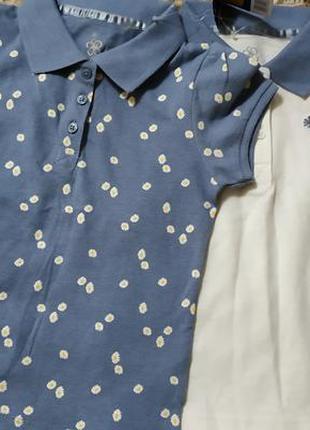 Комплект 2шт футболки поло lupilu 86-92
