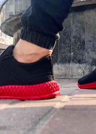 Яркие мужские летние красные кроссовки тренд 2020 кросівки чоловічі літні кросівки