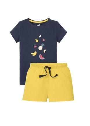 Пижама шорты и футболка, 122-128, 158-164, 170-176, германия