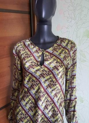 Шолковая блуза roberto cavalli