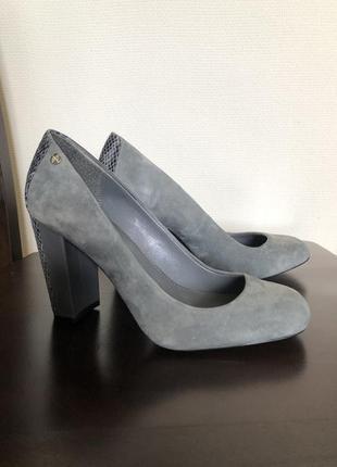 Туфли замшевые calvin klein