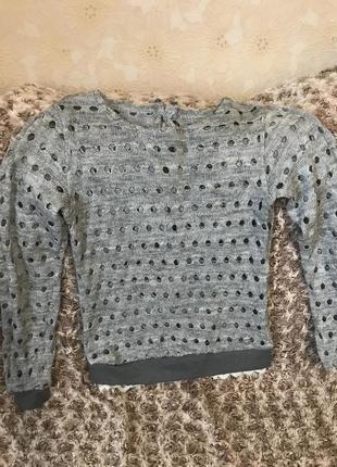 Сірий светр