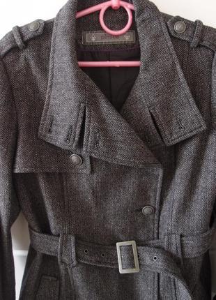 Пальто твидовое pimkie