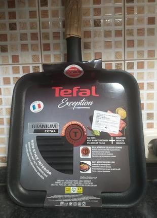 Сковородка гриль tefal. оригинал