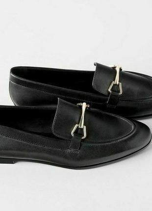 Лоферы/туфли zara