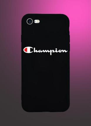 Чехол champion для iphone 5/5s/se/6/6s/6plus/6splus/7/7plus/8/8plus/se2
