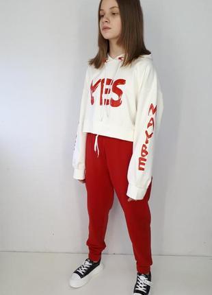 "Костюм ""yes"" красный"