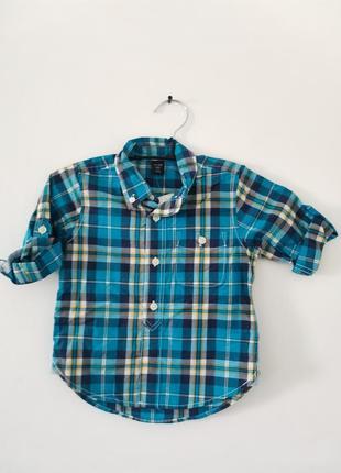 Рубашка для мальчика gap