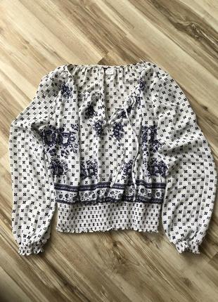 Блуза в этно стиле