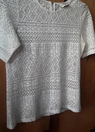 Белая футболка next 10
