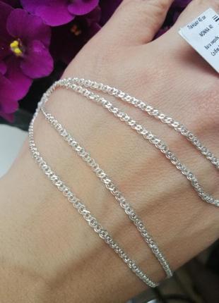 Ланцюжок срібний 45см nonna