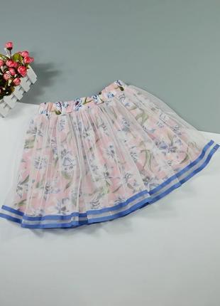 Очень красивая юбка на 9-10 лет/140 см
