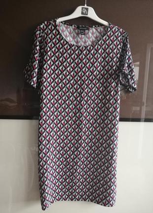 Цветное летнее платье new look