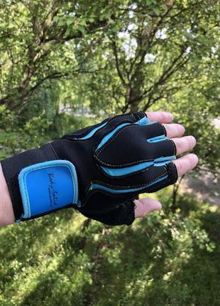 Велоперчатки перчатки для спорта body-solid