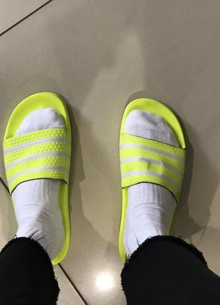 Adidas adilette оригинал тапочки адидас