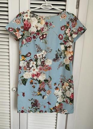Летнее цветочное платье monton