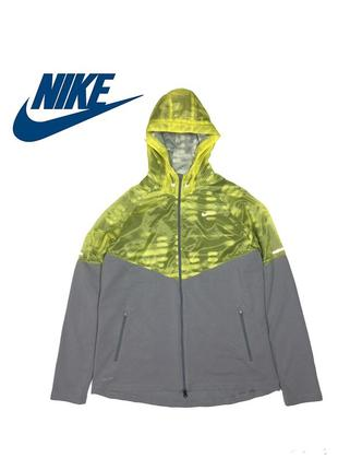 Женское беговое худи nike women's fanatic track jacket dri-fit - xl