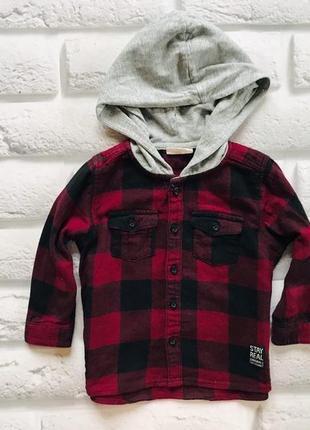 Matalan стильная рубашка на мальчика 9 мес