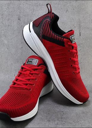 Мужские кроссовки trend system red