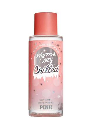 Спрей для тела victoria's secret pink warm&cozy chilled 14681