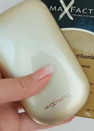Компактная пудра пудра для лица  max factory