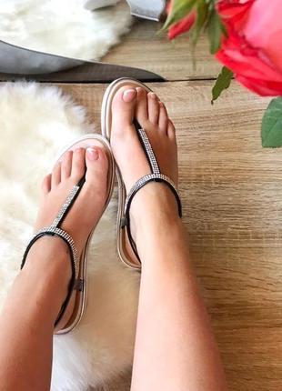 Силиконовые босоножки сандали
