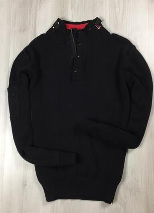 F7 чёрный свитер luke sport люк