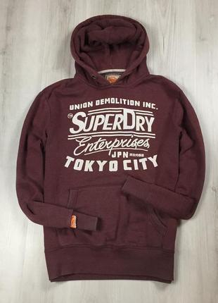 F8 худи superdry супердрю толстовка кофта с капюшоном
