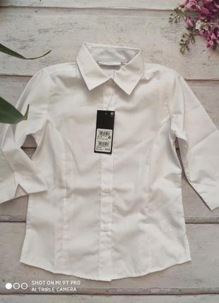 Рубашка школьная next рр.8 лет \128 см.