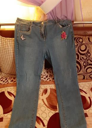 Фирменные джинсы deluxe 52-54