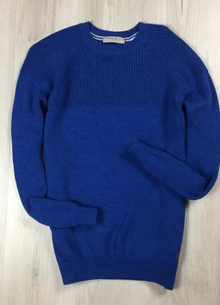 F7 свитер espirit синий