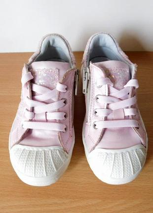 Кожаные кроссовки vera pelle pretti shoe 24 р. стелька 14,8 см