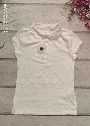 Рубашка школьная gap рр.8-9лет\132-140 см.