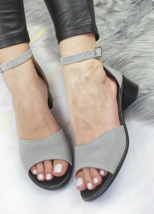 Босоножки - сандали натуральный замш супер удобные и легкие