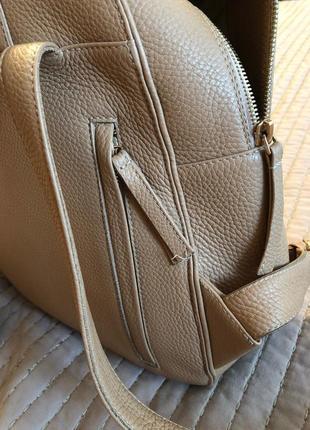 Кожаный рюкзак от кочаровской