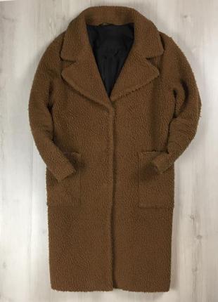 N8 f9 женское пальто коричневое