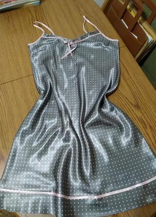 Сіреньке домашнє платтячко,нічнушка