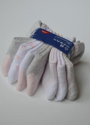 Світлі носочки носки шкарпетки набір 23-26