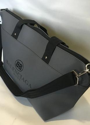 Новая качественная женская сукмка шоппер, спортивная дорожная сумка с длинным ремнем.