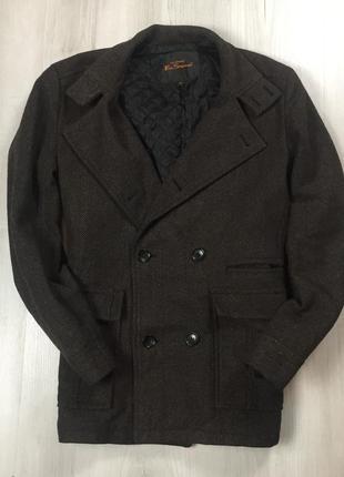 F9  шерстяное пальто ben sherman