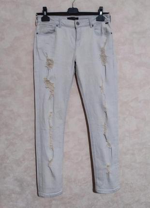 Необычный цвет, джинсы мом бойфренд, maison scotch, 30