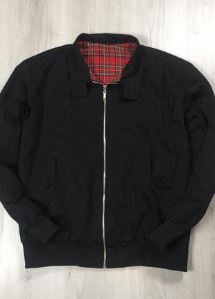 F9 английский харик ветровка куртка чёрная