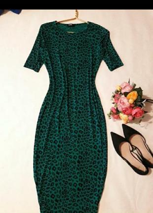 Платье футболка  сарафан миди