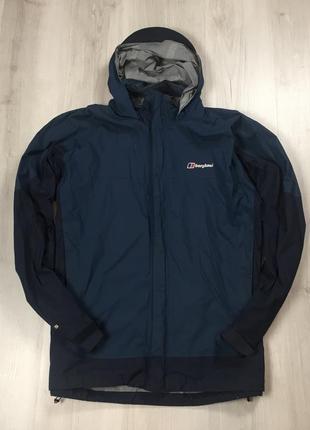 F9 ветровка дождевик berghaus синяя куртка