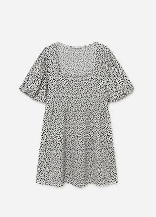 Платье с рукавами-фонариками lefties